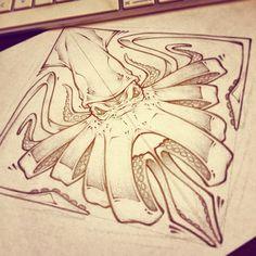 Octopus tattoo scetch