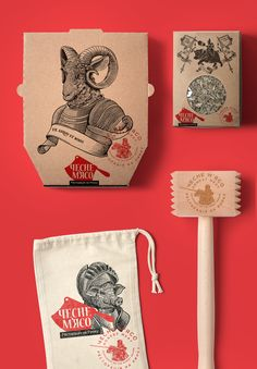 Visual branding for meat restaurant in Lviv