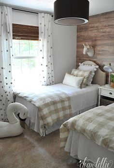 Zeke and Amelia's Room - A Neutral Shared Boy and Girl's Room