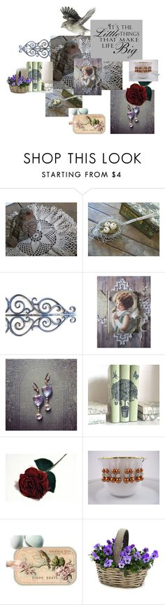 """It's the Little Things"" by thesandlappershop ❤ liked on Polyvore featuring interior, interiors, interior design, home, home decor, interior decorating and WALL"