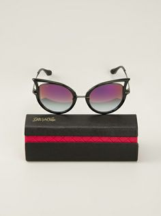 Dita Eyewear - stylised cat eye sunglasses