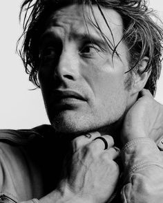 Beautiful expression! Mads Mikkelsen
