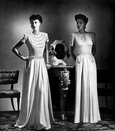1941 dresses.Gramma loved her dresses and heels....These are so lovely.  And here I am in dusty boots and jeans. LOL