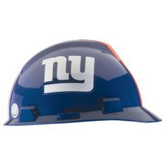 b34ec26a41a9fe Safety Works New York Giants NFL Hard Hat-818434 - The Home Depot