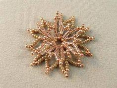 Pattern bijoux: Russian Style Netted Flowers