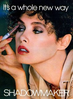 Top Models of the World: Dayle Haddon (Cosmetics)