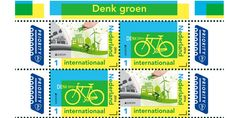 EUROPA Stamps 2016 : Think Green – The Netherlands