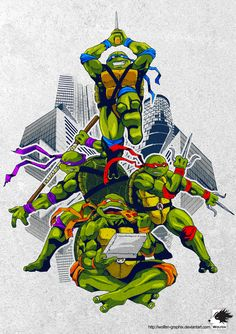 "kunoichi-and-ninja-turtles: "" TMNT by =wolfen-graphix "" Ninja Turtles Shredder, Ninja Turtles Movie, Teenage Mutant Ninja Turtles, Tmnt Characters, Turtles Forever, Otaku, Anime, Cool Drawings, Fan Art"