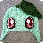 Crochet Chickorita Chickarita Pokemon Hat Amigurumi