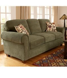 Living Room Decorating Ideas Sage Green Couch wall color for sage green couch | sage fabric casual modern living