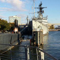 USS Croaker and USS Little Rock