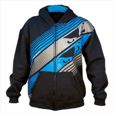 Youth Retro Graphic Full Zip Hoodie (Medium, Black) ** You can get additional details at the image link. Bad Boy Mma, Mma Clothing, Soccer Pictures, Full Zip Hoodie, Just For Laughs, You Fitness, Bad Boys, Sport Outfits, Motorcycle Jacket