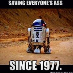 Has anyone ever noticed the Star Wars saga was told throguh R2-D2 and C-3P0 point of view? Awesome storytellers.