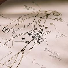 From the Burberry design studio - the iconic trench coat with signature features including the hook-and-eye collar and horn-look buttons