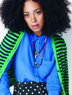#solange is a hottie with that big hair! #thefro