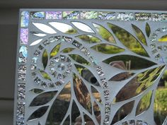 Glenmark Glass Mosaic News - love this use of mirror for mosaics