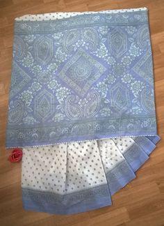 """Saree em viscose  Tecido indiano em viscose para ser usado como """"saree"""" ou na confecção de uma saia ou vestido, vai da sua criatividade. Usado apenas 2 vezes, está conservado. Medidas: 5 metros por 108 cm.  Só 55,00"""