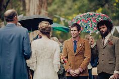 Don't let rain stop you from celebrating your nuptials in the woods! Rustic Australian Wedding in Donnelly River: Rae + Shane