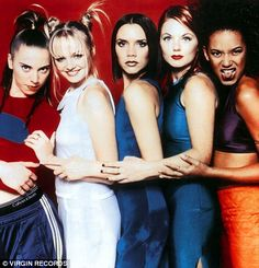 Spice Girls - this was Kiara's favorite band as a little girl! LOL In the heyday of the Spice Girls she was adored by millions of fans – but now Mel C has revealed she suffered from loneliness and isolation during her time with the group. Emma Bunton, Victoria Beckham, Mel C Spice Girl, Viva Forever, Forever Young, Jennifer Saunders, Victoria And David, Baby Buns, Baby Spice