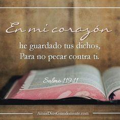 Semana 1: Nuestro #versoparamemorizar #Salmo119 #AmaaDiosGrandemente