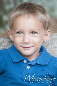 Happy 3rd Birthday to you Grayson! Children's Portraiture by Winterberry Portraits