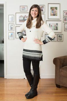 Dear Stitch Fix Stylist - Love this sweater.  (Camy Textured Stripe Trim Pullover from Market & Spruce)