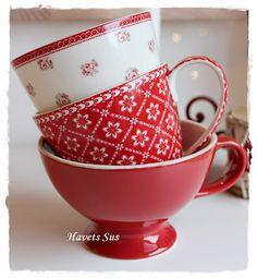 Havets Sus, Greengate, lattecup, lattecup, coffeecup