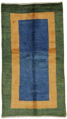 Gabbeh - Qashqai Persian Carpet 188x106