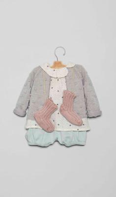 Conjuntos para bebé en la Tienda Online Nícoli Nicoli L1602031-bb Bebe