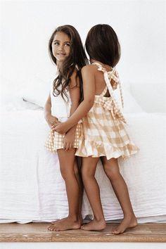 d005476e8e4 Lulu Tie Gingham Dress - SABO MINI by Sabo Mini