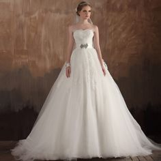Strapless Ball Gown charming bridal gown $335.00