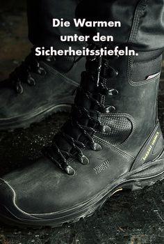 S3 Winter Sicherheitsstiefel Grado X in Schwarz. Highlights: Gefüttert, Kälte/Wärme isolierend, wasserdichte Modytex® Membran, Vibram® Gummi-Laufsohle & metallfrei.