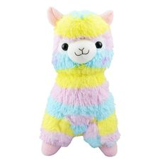 SZTARA Christmas Alpaca Vicugna Pacos Arpakasso Alpacasso Llama Soft Stuffed Animal Plush Doll Toy For kid Birthdays Gift: Amazon.co.uk: Toys & Games