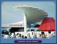 Air Canada pavilion at Montreal 1967 Expo 67 Montreal, Quebec Montreal, Montreal Ville, Montreal Canada, Quebec City, Vacation Memories, Canadian History, O Canada, World's Fair
