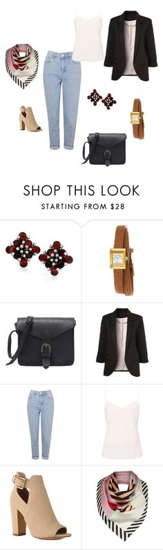 """""""Addilyn Reynold"""" by melinda-lancaster on Polyvore featuring moda, Gucci, Topshop, Ted Baker e Lulu Guinness"""