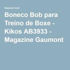 Boneco Bob para Treino de Boxe - Kikos AB3933 - Magazine Gaumont