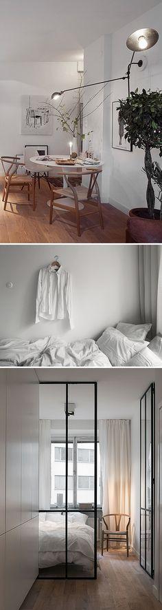 3th . bedroom ::: 黑框門