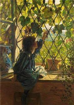 via Lazzaro Pasini est un peintre italien. Lazzaro Pasini was an Italian painter, mainly of landscapes, but. Art Et Illustration, Illustrations, Ouvrages D'art, Window Art, Art Plastique, Aesthetic Art, Beautiful Paintings, Impressionism, Les Oeuvres