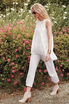 Linen Crops - anthropologie.com