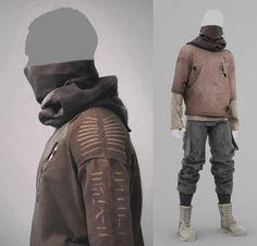 Marvelous Designer - Mens Collection  - Outfit #3, Travis Davids on ArtStation at https://www.artstation.com/artwork/wn50V
