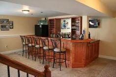 basement bar cabinet ideas - Google Search