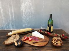 Wine and Cheese Party Presentation Set - On Sale at $79.95 - How beautiful is this?    http://www.pacificmerchants.com/wine-and-cheese-party-7-piece-presentation-set.html