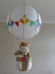 Hot Air Balloon Nursery Light Shade £32.00