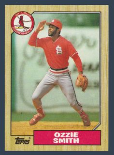 172 Best Ozzie Smith Images In 2019 Baseball Cards Cardinals