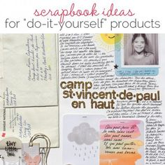 "Scrapbook Ideas for ""Do-It-Yourself"" Products – Scrap Booking"