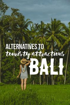 Touristy Things to do in Bali #bali #indonesia #guide