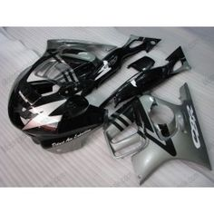 Honda CBR600 F3 1995-1996 Injection ABS Fairing - Others - Black/Silver | $699.00