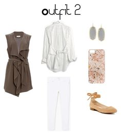 Spring 2017 Capsule Outfit #2 by mschaps on Polyvore featuring Madewell, SUGAR LIPS, MANGO, Franco Sarto, Kendra Scott and Anrealage