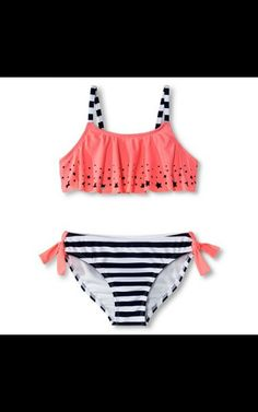 Cute 2 piece swim suit at target on sale for $14.99