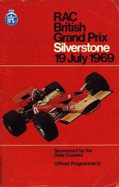 179GP - XXII RAC British Grand Prix 1969 #Britishgp #Silverstone